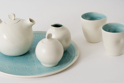Tea set by Linda Bloomfield