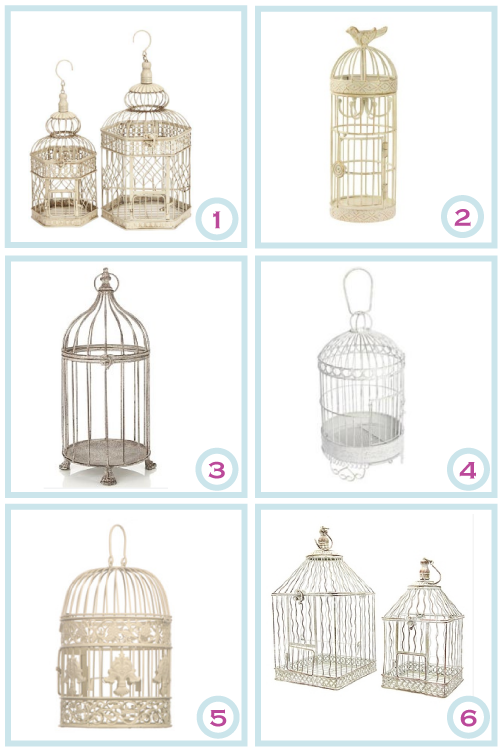 Decorative Bird Cages by Torie Jayne