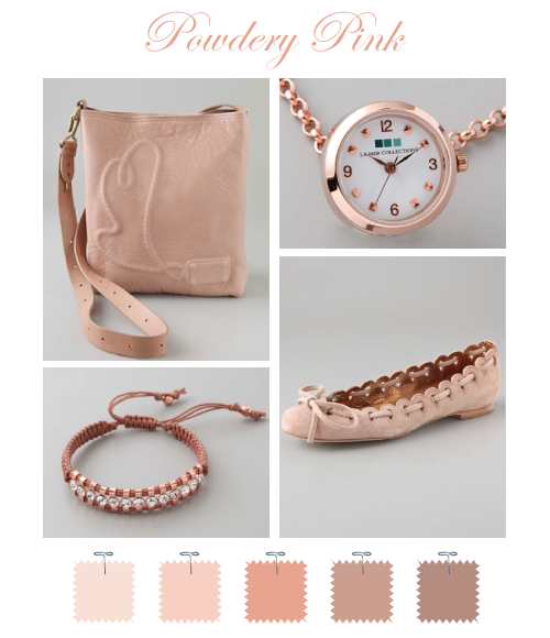 Powdery Pink @Shopbop by Torie Jayne