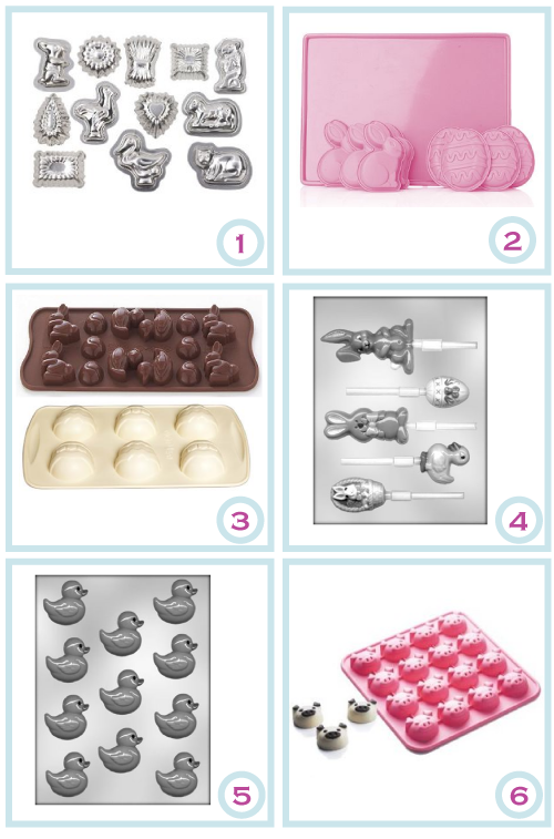 Easter egg moulds