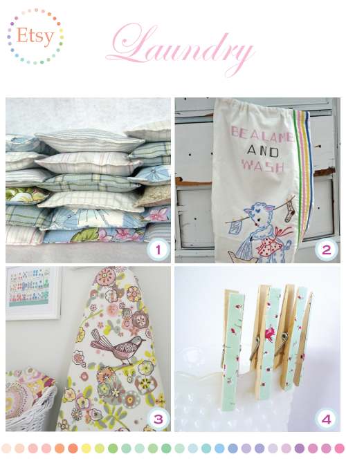 Pretty Laundry Supplies by Torie Jayne
