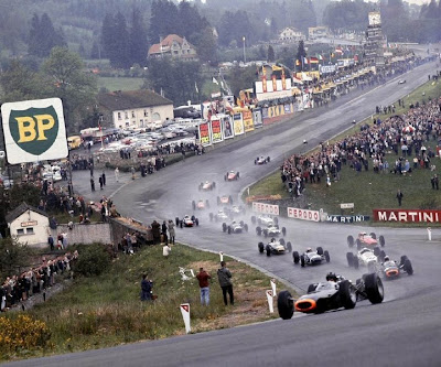 GP da Bélgica de Formula 1, Spa-Francorchamps no anos 60 by full-question-raphael-serafim-eu-mesmo