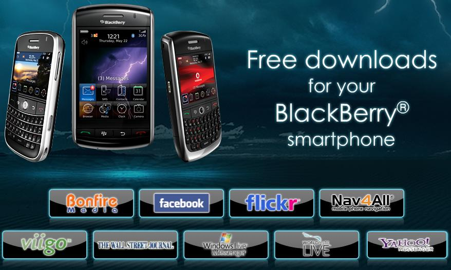 blackberry free apps download