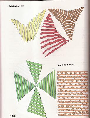 ARTES13 Arte : Recorte e colagem com figuras geométricas. para crianças