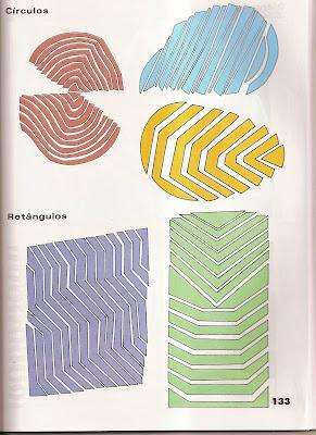 ARTES12 Arte : Recorte e colagem com figuras geométricas. para crianças