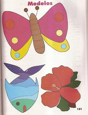 ARTES10 Arte : Recorte e colagem com figuras geométricas. para crianças