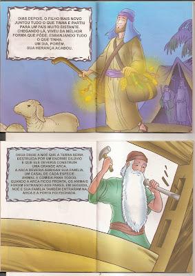 historias+b%C3%ADblicas+(3)+2 Histórias Bíblicas O Filho Pródigo e O Dilúvio. para crianças