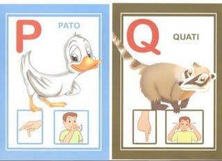 pq 6 modelos de alfabeto em Libras: 1 é só copiar e 5 para DOWLOAD. para crianças