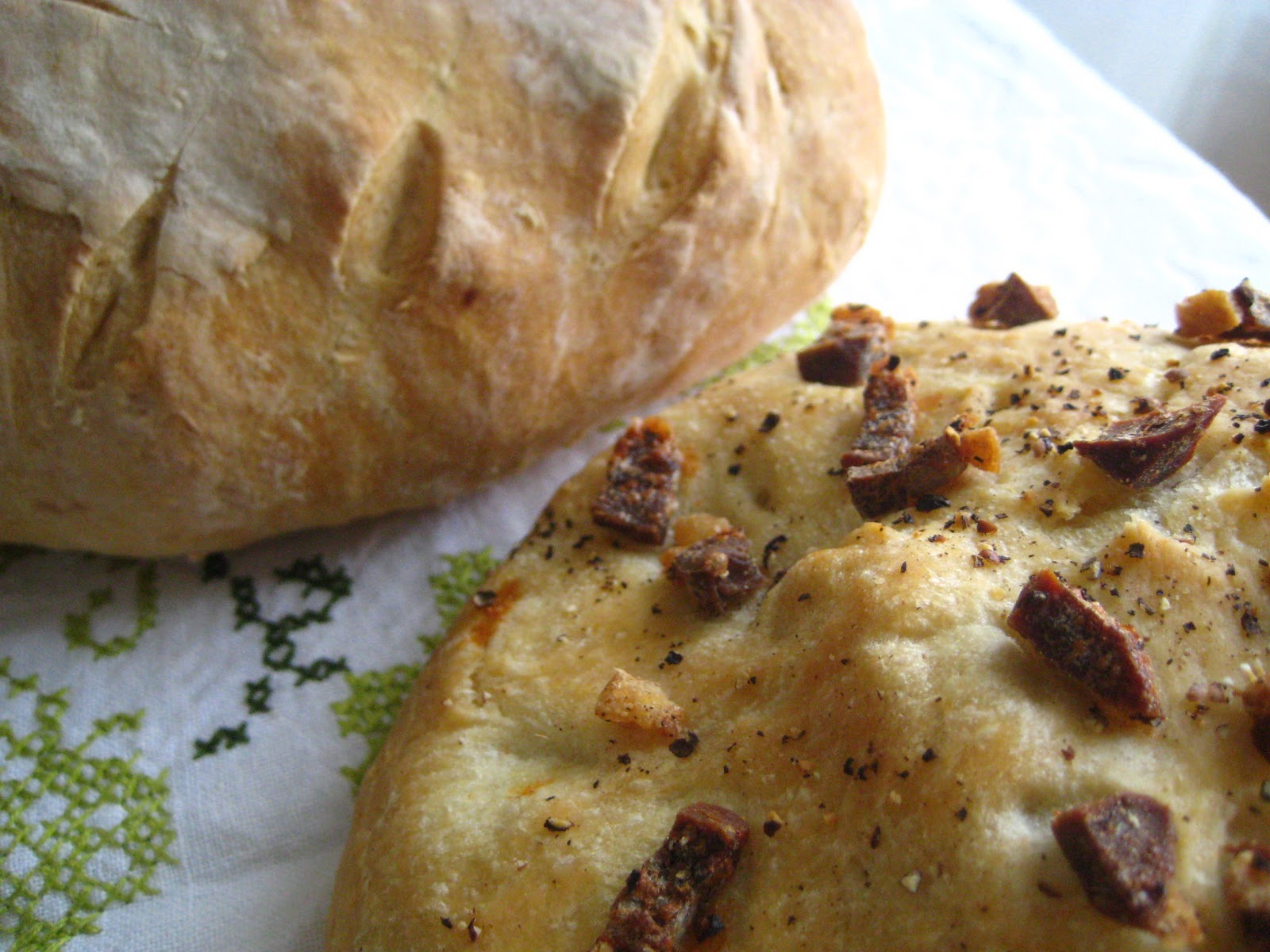 What Julia Ate: Duck Prosciutto Bread
