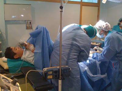 Miguel Ángel Palacio/Médico anestesíólogo: La sonrisa del anestesista