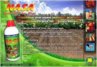 pupuk organik cair atau poc nasa.