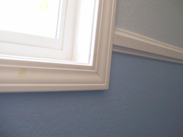 Edeenut creates window casing chair rail base boards for 1 x 4 window casing