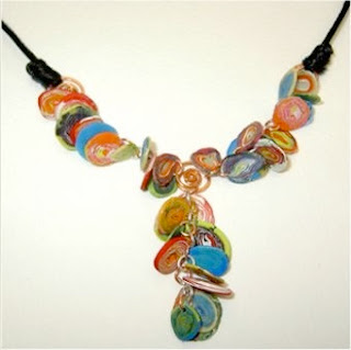 Rali 39 s blog wild and wacky recycled jewellery - Plastic bottle jewelry making ...