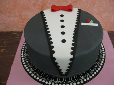 Sugar Chef Tuxedo Cake