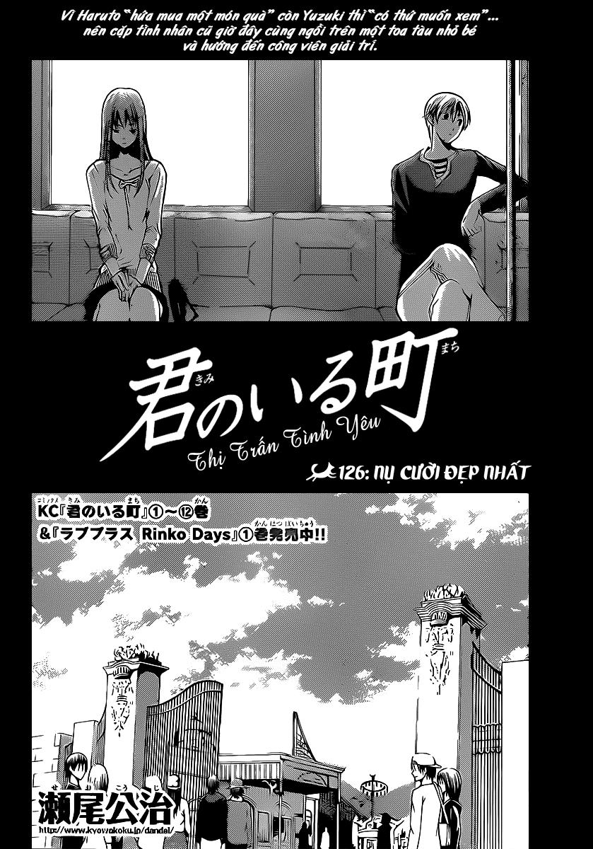 Kimi no Iru Machi-Thị Trấn Tình Yêu chap 126 Trang 3 - Mangak.info