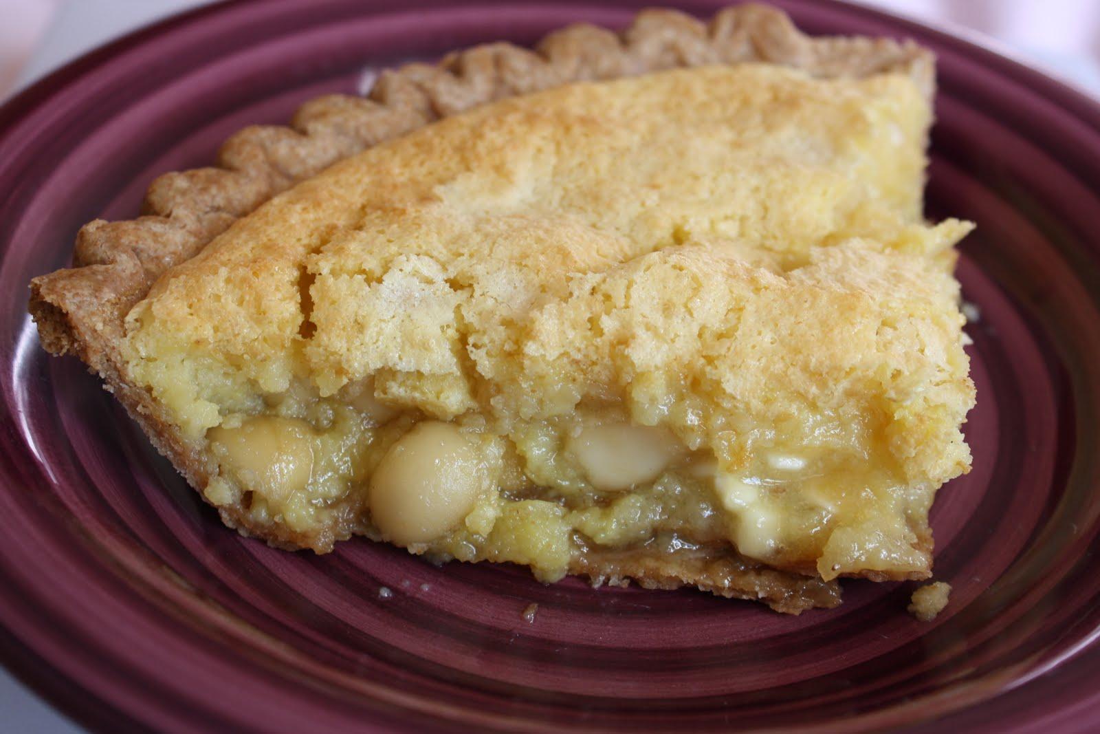 Verbena Pastries: Lemon-Coconut Macaron Pie