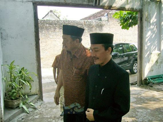 Kunjungan Menteri Agama RI Bpk. Maftuh Basuni