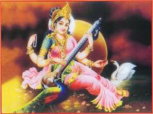 SARASVATI - Deusa da Sabedoria, arte e musica.