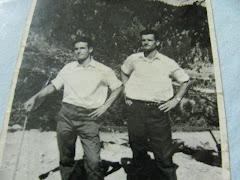 1959 Οι νέοι του χωριού μας . Χρ. Φλώτσιος , Β. Κοτρώνας
