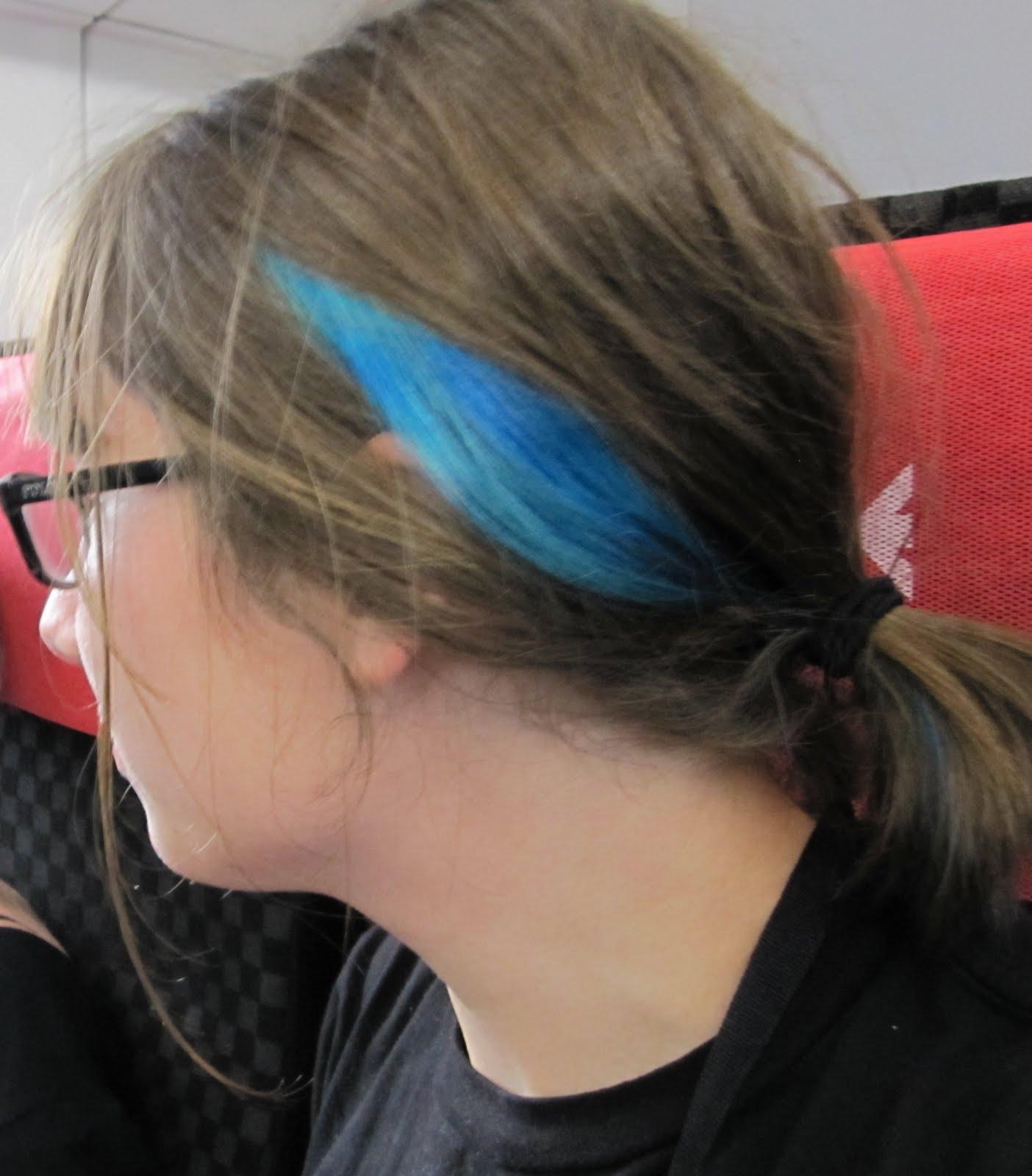 building stuff makin friends hair dye