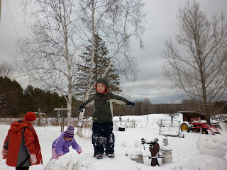 Wild Weekend: Fun in the Snow at Grandma and Grandpa's House