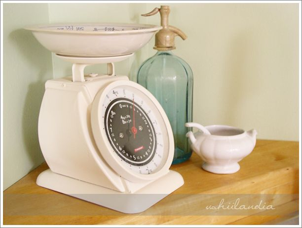 waga kuchenna po / kitchen scale after