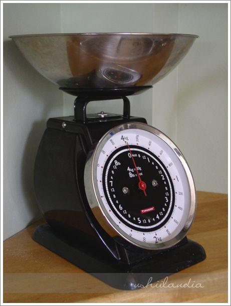 waga kuchenna przed / kitchen scale before