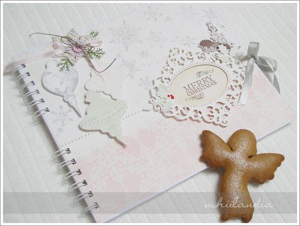 album świąteczny - scrapbooking ushii