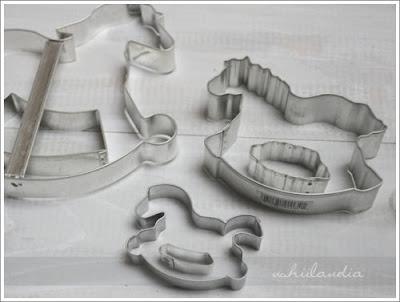 foremki do ciastek - koniki na biegunach