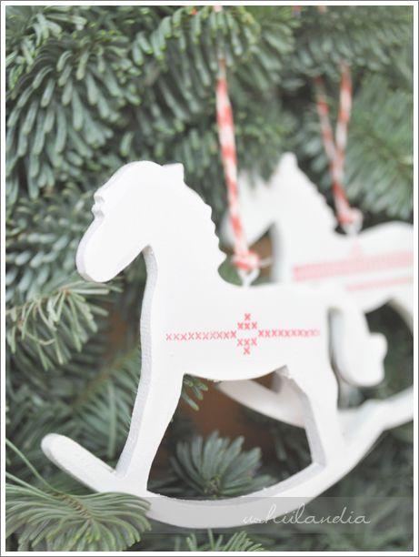 DIY christmas ornaments / świąteczne ozdoby koniki