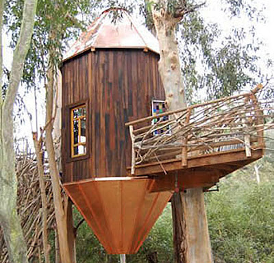 Home gardening tips amazing treehouses ewoks would be for Cool tree house plans