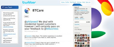 BT Care on Twitter