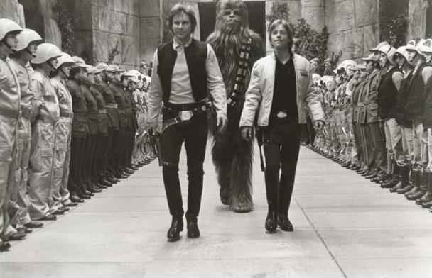 """3) Цикл  """"Star Wars Это осталось за кадром """""""