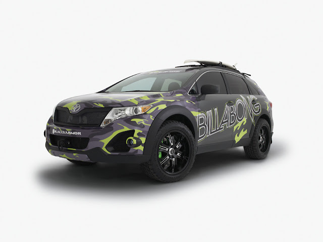 cool extreme sports toyota billabong ultimate venza