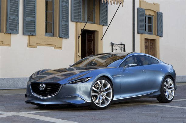 Mazda Wheeled Out The 4 Door Coupe Show Car At A Design Event In Milan, But  Official U0027studiou0027 Renderings And Outdoor Shots Of The Car Have Also Leaked  Out ...
