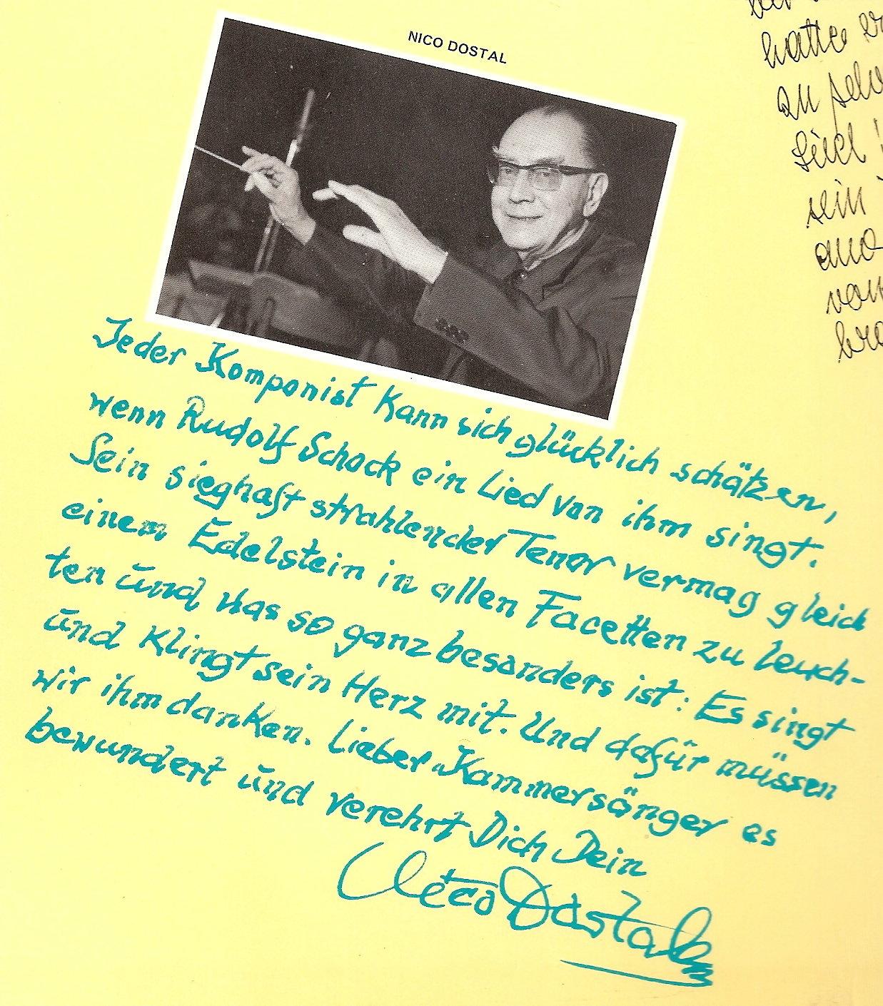Rudolf Schock - Singt Vier Beliebte Operetten-Lieder