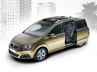 Based Automobile,Automobile Manufacturer, well-shaped, flexible, SEAT Alhambra
