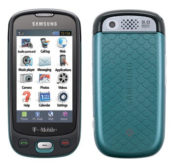 Samsung T-Mobile, digital zoom, Touch screen