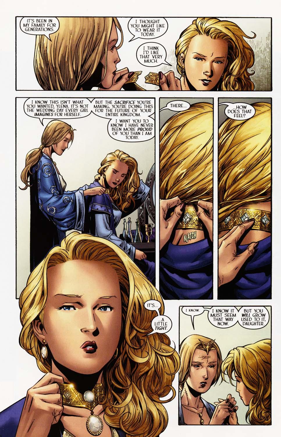 Read online Scion comic -  Issue #35 - 7