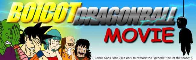 DragonBall Movie Boicot
