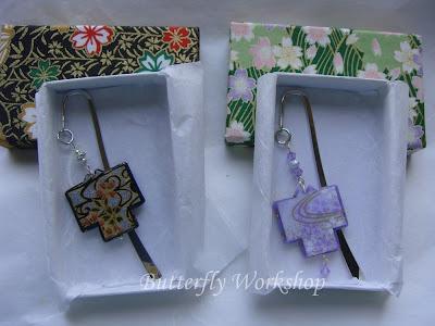 segnalibri kimono giapponesi
