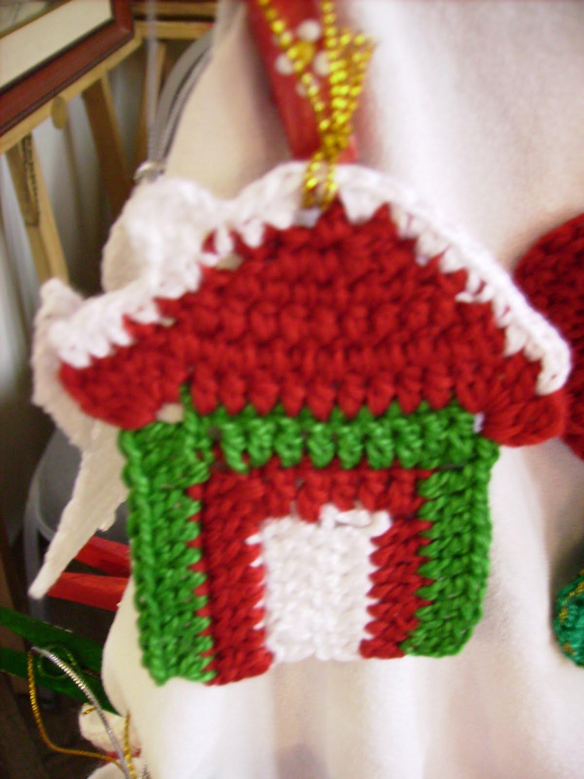 Adornos de navidad tejidos al crochet imagui for Adornos navidenos tejidos a crochet 2016
