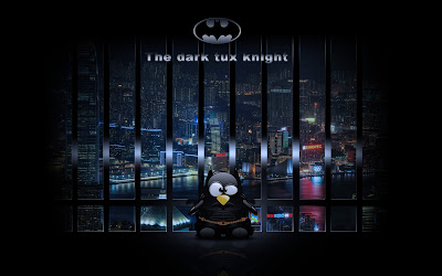 the dark knight tux wallpaper