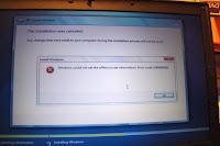 Windows 7 setup