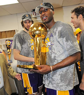 lakers campeones nba 2009