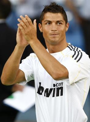 C. Ronaldo llega al Real Madrid