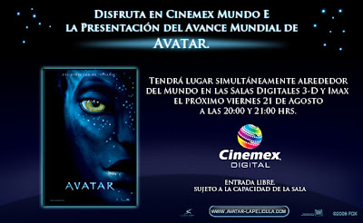 avatar en cinemex