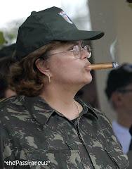 Essa mulher quer ser sua presidente....
