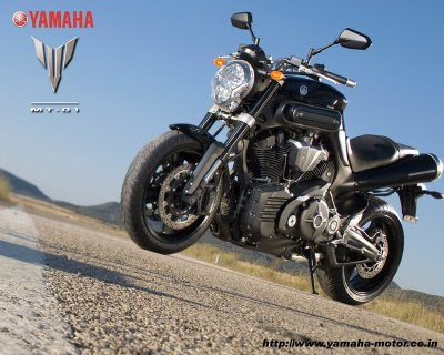 New Yamaha MT 01 Black Hammer