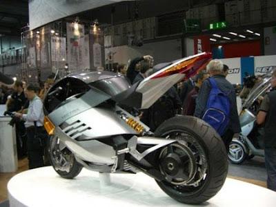 Vectrix The Future Super Bike Silver Edition3